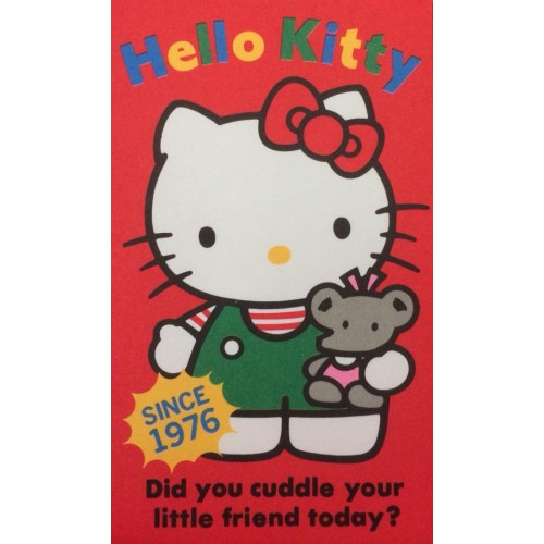 Ano 1989. Mini-Envelope Hello Kitty Sanrio CVM