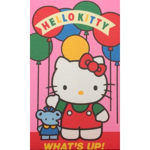 Ano 1990. Mini-Envelope Hello Kitty Sanrio CUP
