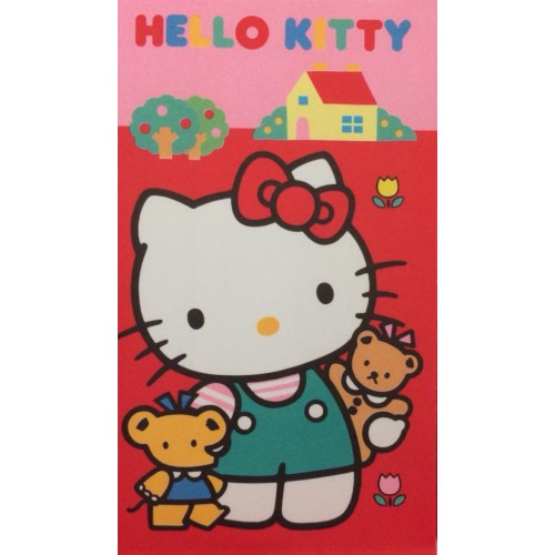 Ano 1989. Mini-Envelope Hello Kitty Sanrio CRV