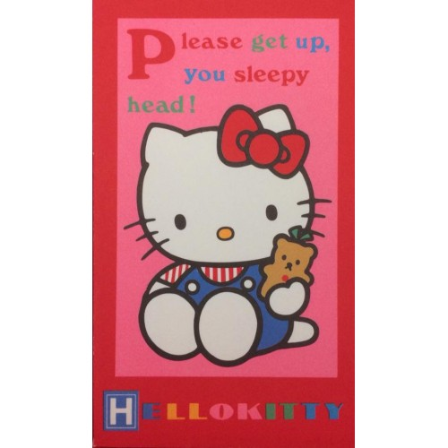 Ano 1988. Mini-Envelope Hello Kitty Sanrio CRV