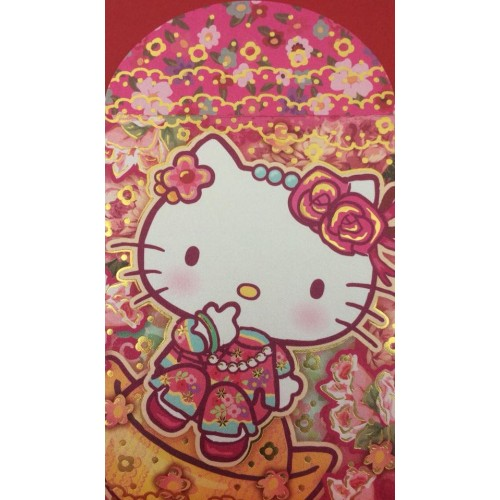 Ano 2014. Mini-Envelope HELLO KITTY Ellon 01