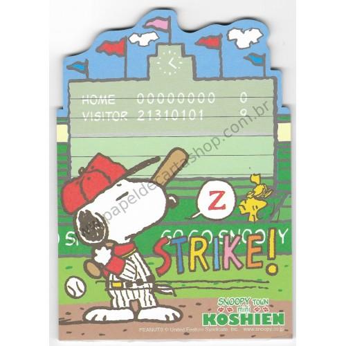 Nota Snoopy Grande Koshien - Snoopy Town