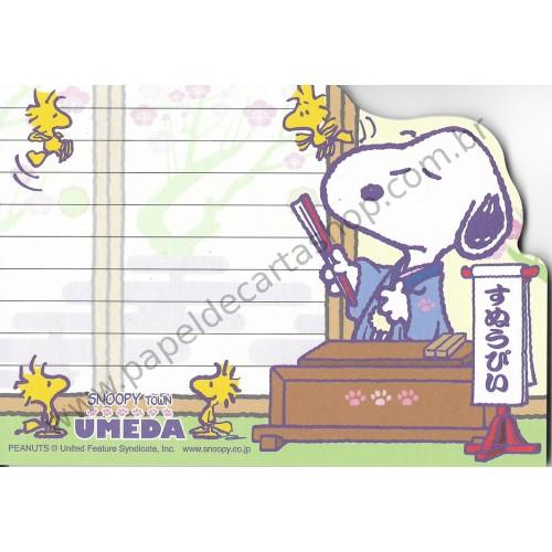 Nota Snoopy Grande Umeda - Snoopy Town