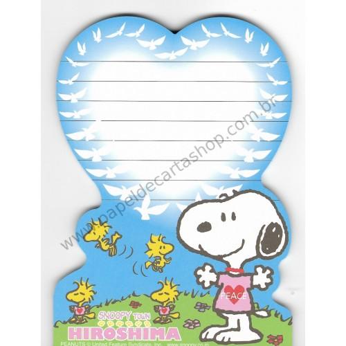 Nota Snoopy Grande Hirishima - Snoopy Town