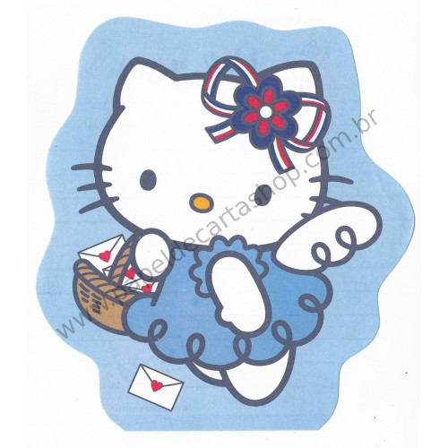 Ano 2002. Nota Hello Kitty French Vintage Sanrio