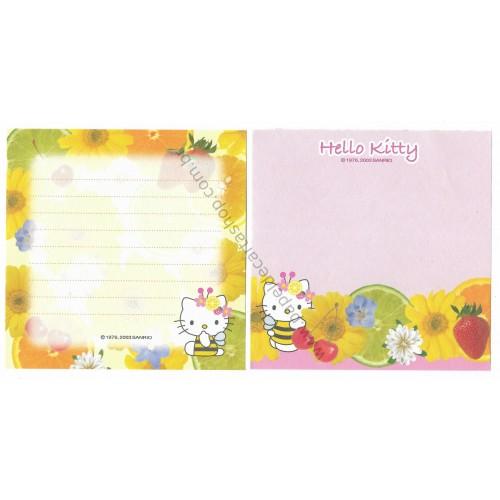 Ano 2003. Kit 2 Notas Hello Kitty Fresh Fruits Sanrio