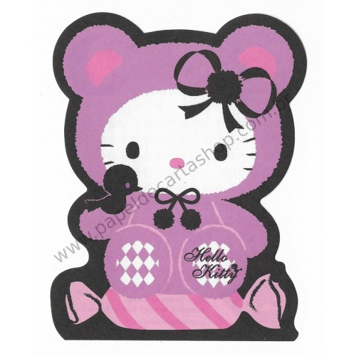 Ano 2009. Nota Hello Kitty Furry CLL Sanrio