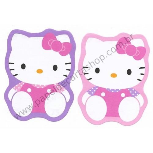Ano 2006. Kit 2 Notinhas Hello Kitty CRL Sanrio