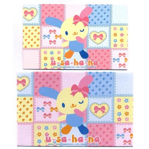 Ano 2004. Kit Mini-Cartão de Mensagem U*SA*HA*NA CAZ Sanrio
