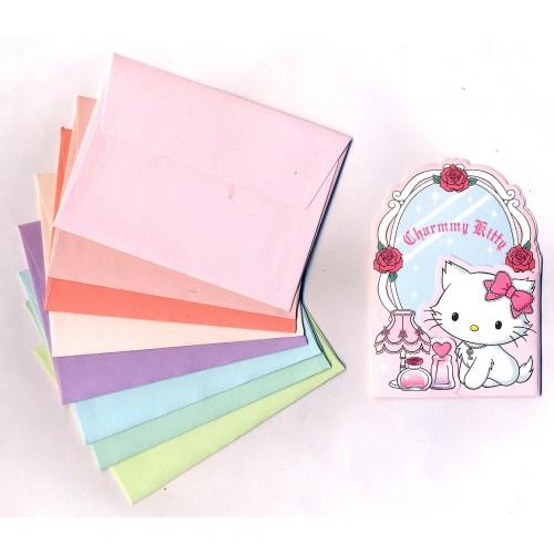 Ano 2007. Kit Mini-Cartão de Mensagem Charmmy Kitty Sanrio