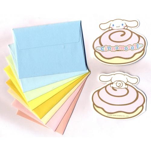 Ano 2006. Kit Mini-Cartão de Mensagem Cinnamoroll Sanrio