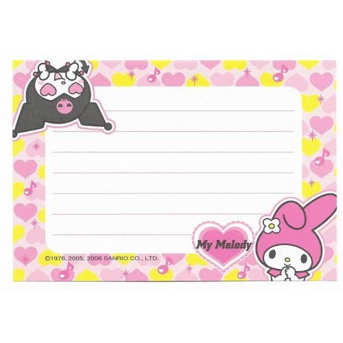 Ano 2006. Nova My Melody & Kuromi Sanrio