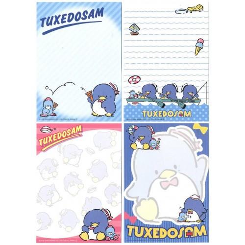 Ano 2012. Kit 4 Notas Tuxedosam Sanrio