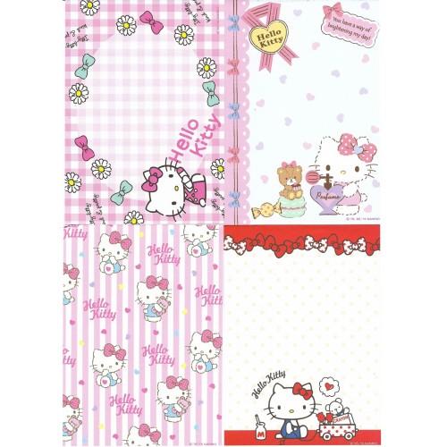 Ano 2015. Kit 8 Notas Hello Kitty Sanrio