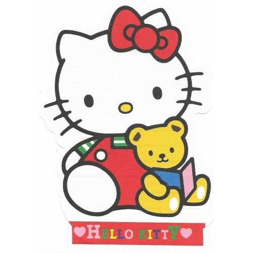 Ano 1995. Nota Hello Kitty Sanrio