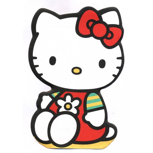 Ano 1998. Nota Hello Kitty Vintage Sanrio