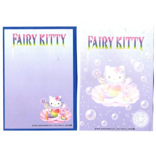 Ano 2000. Kit 2 Notas Hello Kitty Fairy Kitty CLL Vintage Sanrio