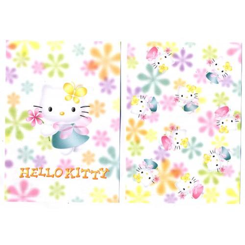 Ano 2000. Kit 2 Notas Hello Kitty Flores CBR Vintage Sanrio
