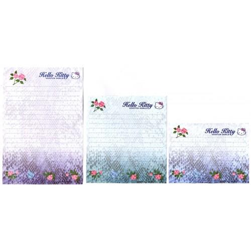 Ano 2000. Kit 3 Notas Hello Kitty Vivitix Girls CAZ Vntage Sanrio