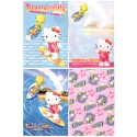 Ano 2002. Kit 4 Notas Hello Kitty & Tweety PSurf Sanrio