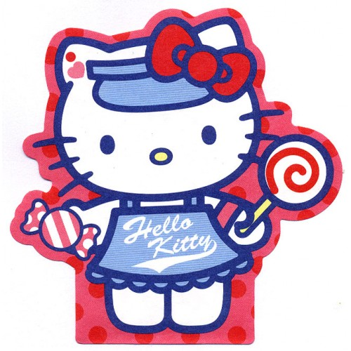 Ano 2004. Nota Hello Kitty Lollypop Sanrio
