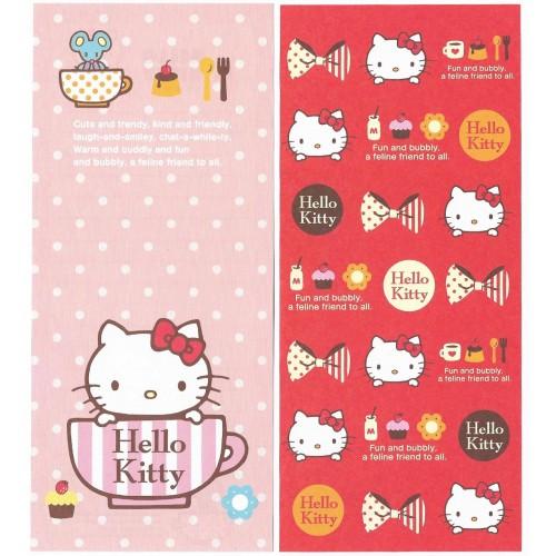 Ano 2014 Kit 2 Notas GRANDES Hello Kitty Fun and Bubbly Sanrio
