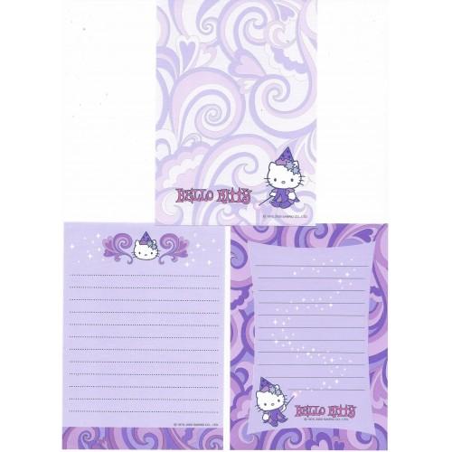 Ano 2000. Kit 3 Notas Hello Kitty Bruxinha Antigo (Vintage) Sanrio