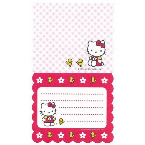 Ano 1999. Nota Hello Kitty VM & R Antigo (Vintage) Sanrio