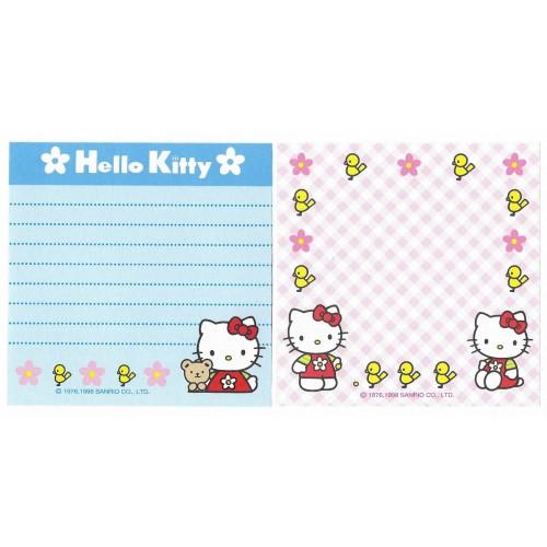 Ano 1999. Nota Hello Kitty Bird Antigo (Vintage) Sanrio