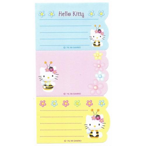 Ano 1999. Nota Hello Kitty Lady Bug Antigo (Vintage) Sanrio