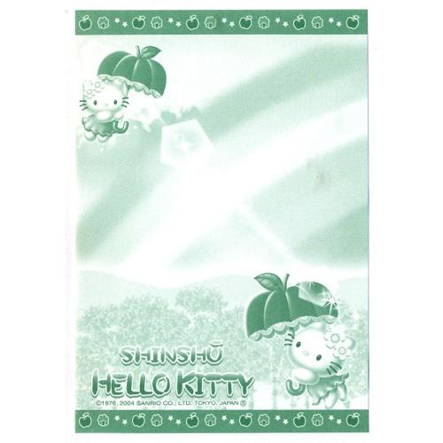 Ano 2004. Nota GOTOCHI Kitty Shinshū Sanrio