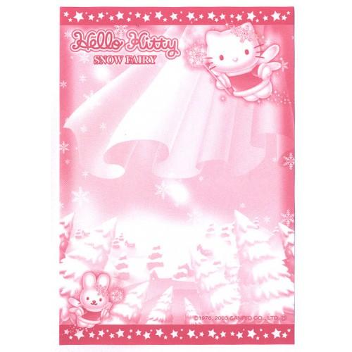 Ano 2003. Nota GOTOCHI Kitty Snow Fairy Sanrio