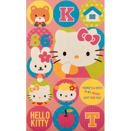 Ano 2004. Mini-Envelope Hello Kitty Spot Sanrio