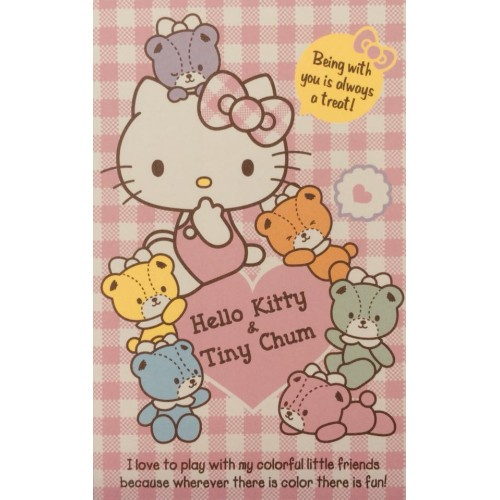 Ano 2015. Mini-Envelope Hello Kitty & Bears CRS Sanrio