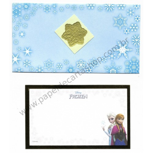 Conjunto de Mini-Cartão de Mensagem Disney FROZEN CBR Japan