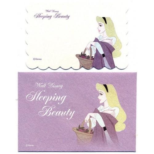 Conjunto de Mini-Cartão Importado Disney The Sleeping Beauty Japan