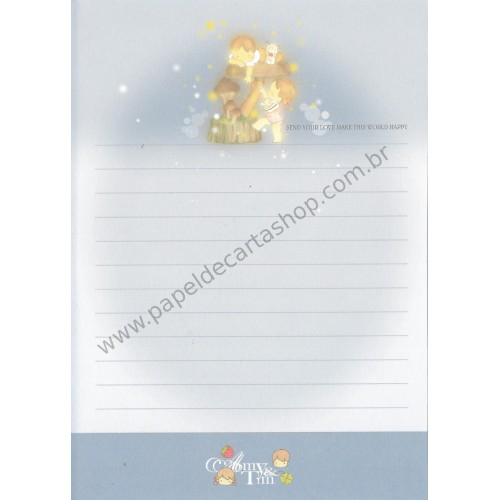 Papel de Carta Avulso Importado AMY & TIM 05