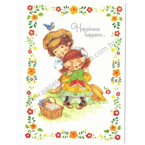 Notecard Antigo Importado Pam Peltier Sugar'n'Spice5G - Current