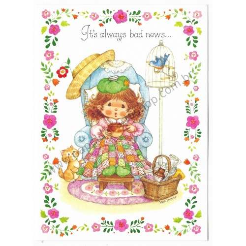 Notecard Antigo Importado Pam Peltier Sugar'n'Spice8G - Current