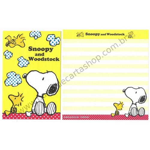 Kit 2 Conjuntos de Papel de Carta Snoopy CAMAZ - Peanuts Worldwide LLC