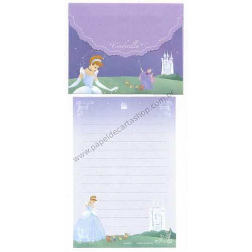 Conjunto de Papel de Carta P Disney Cinderella Dreams Come True