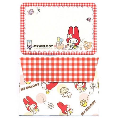 Ano 2015. Mini-Cartão de Mensagem My Melody Sanrio