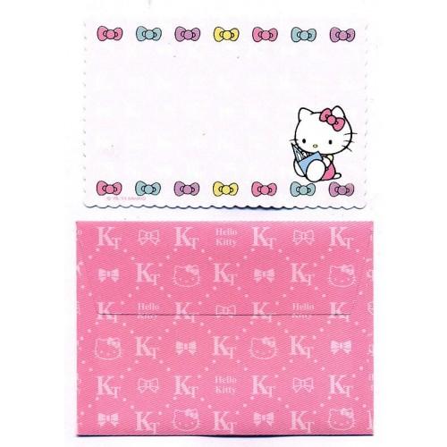 Ano 2013. Kit Mini-Cartão de Mensagem Hello Kitty Ribbons (CRS) Sanrio