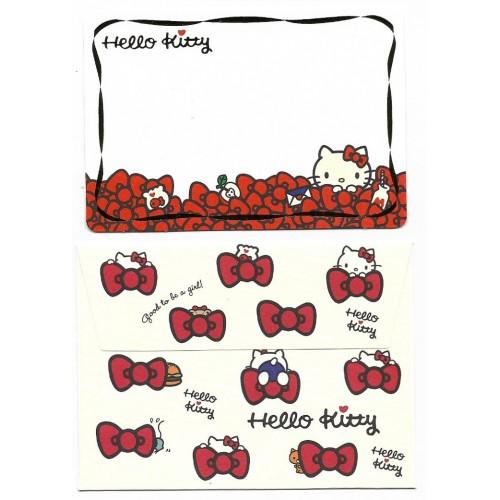 Ano 2015. Kit Mini-Cartão de Mensagem Hello Kitty Love (CVM) Sanrio