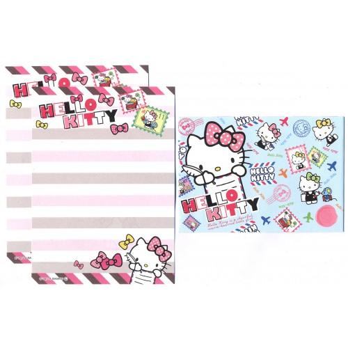 Ano 2014. Conjunto de Mini-Papel de carta Hello Kitty Seal2 Sanrio