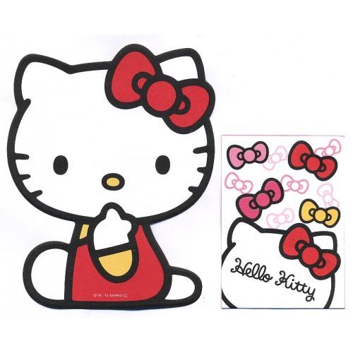 Ano 2013. Conjunto de Mini-Papel de carta Hello Kitty DC1 Sanrio