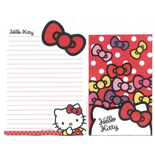 Ano 2013. Conjunto de Mini-Papel de carta Hello Kitty DC2 Sanrio