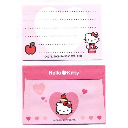 Ano 2009. Conjunto de Mini-Papel de Carta Hello Kitty CBR2 Sanrio