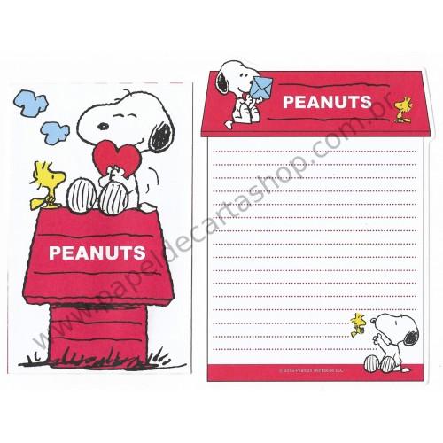 Conjunto de Mini-Papel de Carta SNOOPY HOME II Peanuts
