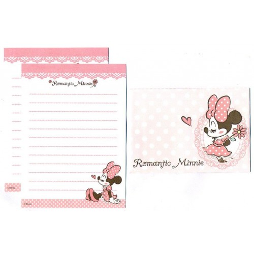 Conjunto de Mini-Papel de Carta Romantic Minnie I Disney